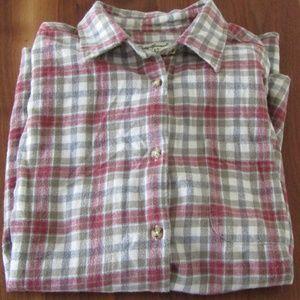 Vintage Eddie Bauer Grunge Style Flannel, XL